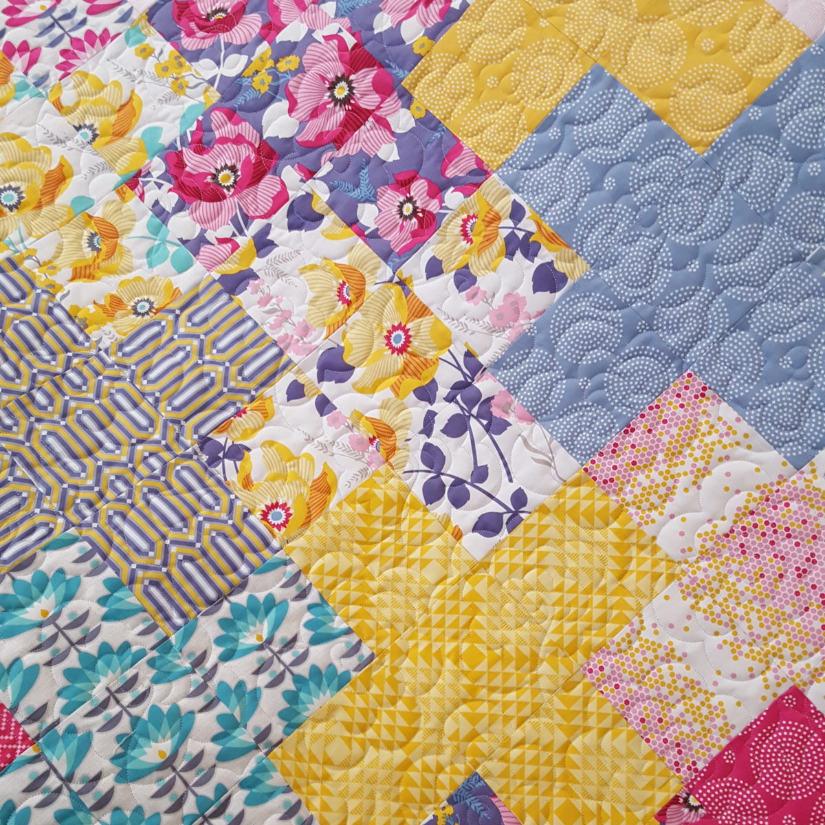 Floral Customer Quilt