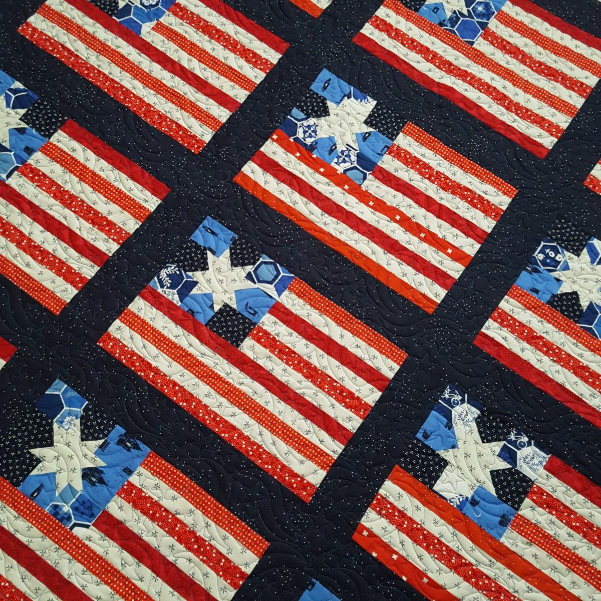 Sara's Flag Quilt