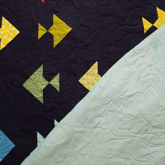 Sara's Fishy quilt