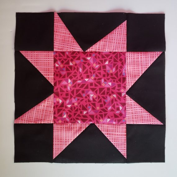 Seeing Stars Quilt Along- Improv Star Blocks